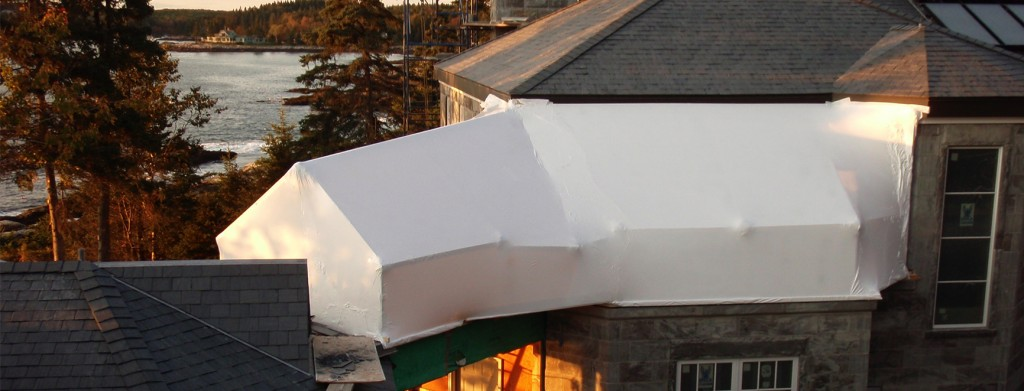 Residential customers maine mobile shrinkwrap for House wrap prices